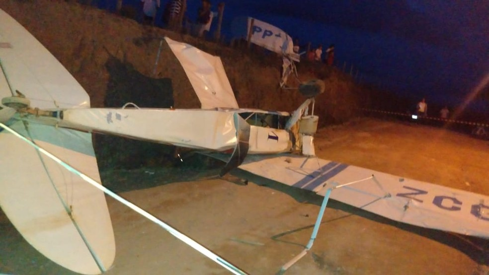 Avião de pequeno porte cai em Monte Verde — Foto: Arquivo pessoal