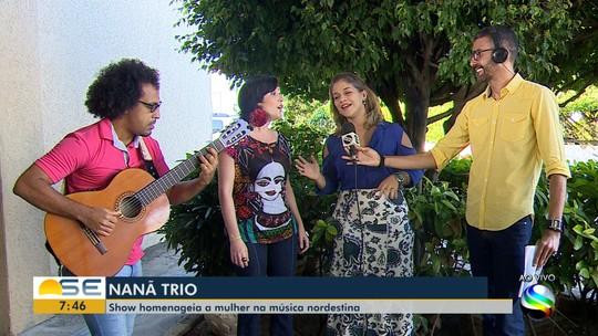 Nanã Trio faz show neste sábado em Aracaju