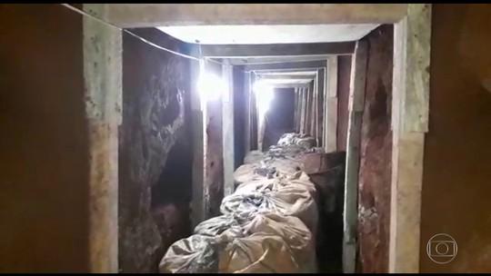 Polícia paraguaia encontra túnel de 12 metros que daria acesso a presídio e prende quatro pessoas