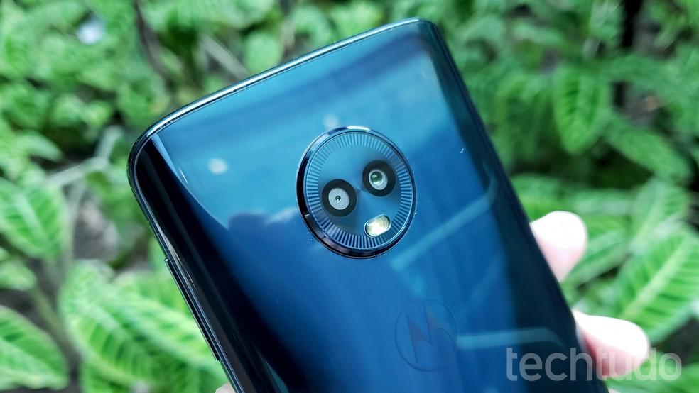 43556e8ee1 ... Veja oito capinhas para o Motorola Moto G6 Plus — Foto  Thássius Veloso    TechTudo