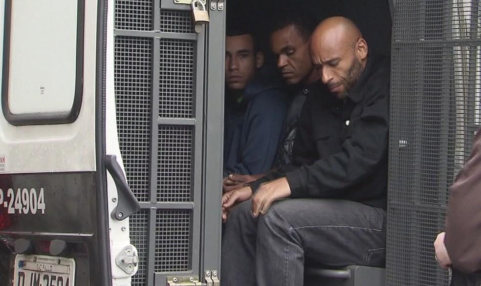 Edinho foi detido outras quatro vezes (Foto: Reprodução/TV Tribuna)