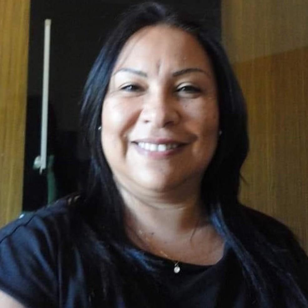 Tânia Magali Oliveira da Silva, 54 anos, morreu no dia 3 de maio — Foto: Facebook/Reprodução