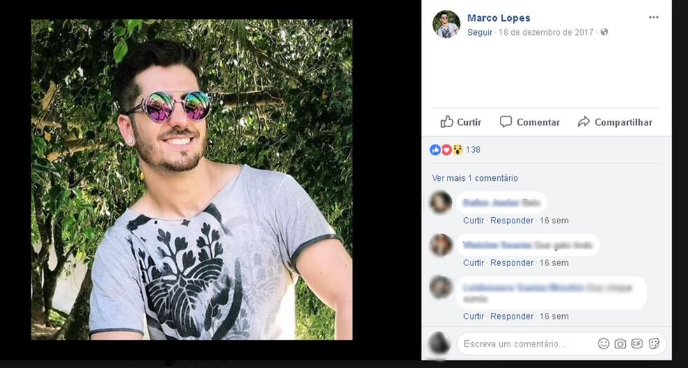 Marco Aurélio Lima Lopes andava por rodovia de Cerquilho quando foi atingido por um carro (Foto: Reprodução/Facebook)