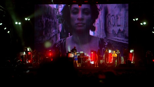 Emicida e Ibeyi homenageiam Marielle Franco no Rock in Rio