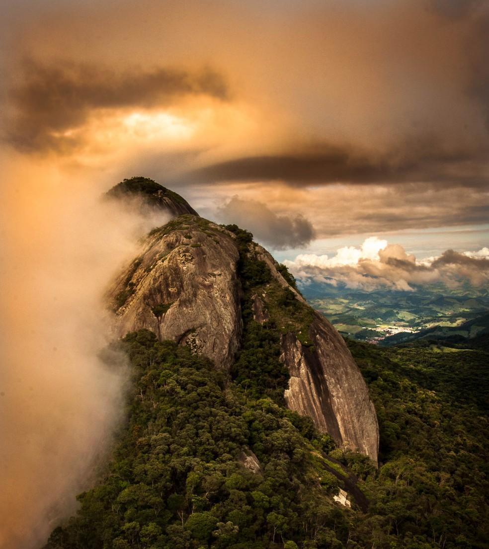 A Serra da Pedra Branca chega a 1.850 metros de altitude. (Foto: Vlamir Bastos/VC no TG)