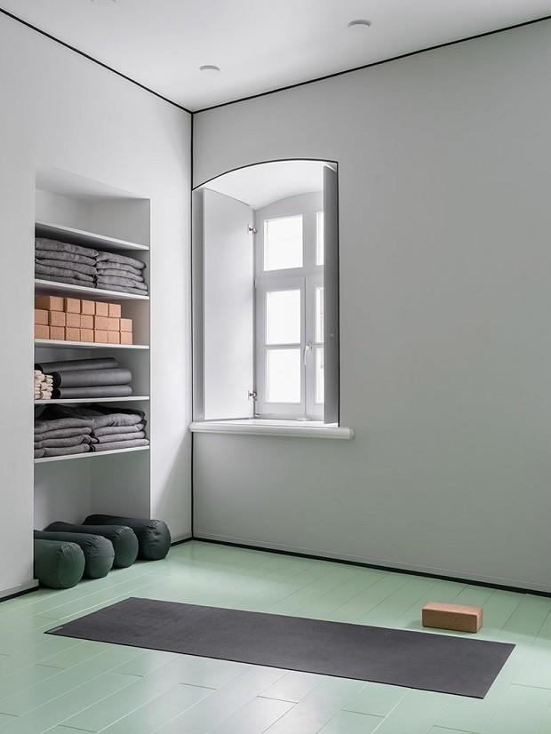 Estúdio De Ioga Minimalista E Surpreendente Casa Vogue Ambientes