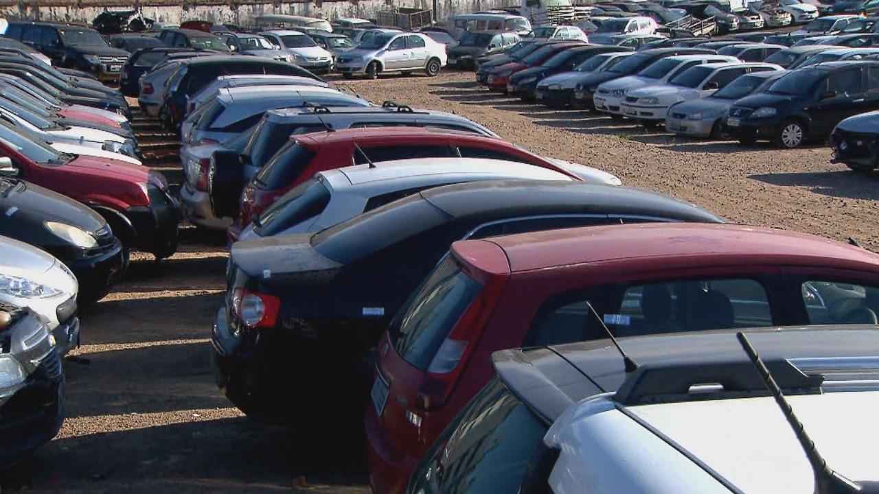 Setran faz leilão online de veículos guinchados com lances a partir de R$ 400