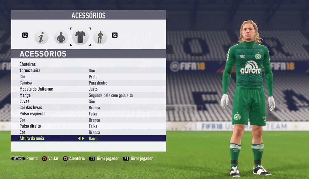 Como criar jogadores em FIFA 18 | Jogos de esporte | TechTudo Felipe Fifa 18
