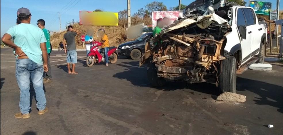 Acidente deixou quatro estudantes mortos e dois feridos em Riachão, no sul do Maranhão — Foto: Redes Sociais