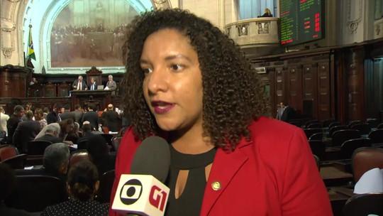 Alerj rejeita pedido de cassação do mandato da deputada que denunciou Witzel à ONU