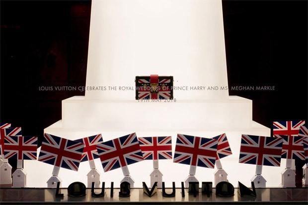 Loja temática da Louis Vuitton em Londres (Foto: Divulgação)