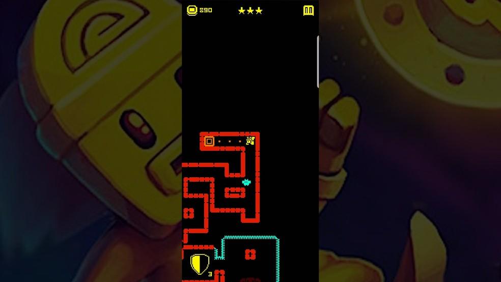 Tomb of the Mask: confira dicas para mandar bem no viciante game para celulares — Foto: Reprodução/Murilo Molina