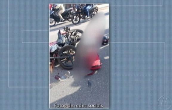 Motociclista morre ao se chocar com carreta na av Independência, em Ananindeua - Notícias - Plantão Diário