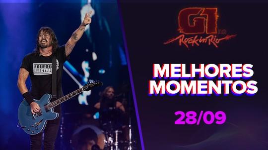 Rock anos 1990, baixista de forró e nostalgia brasileira: Veja resumo do 2º dia de Rock in Rio 2019