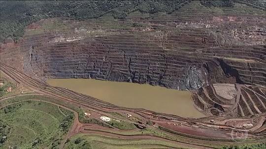 Parede de mina em Barão de Cocais (MG) está se movimentando mais rapidamente