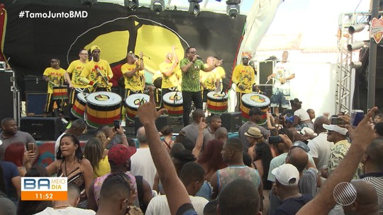 Grupo Olodum realiza evento para homenagear a África e divulgar o tema do carnaval 2020