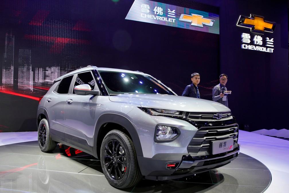 Chevrolet Trailblazer - modelo chinês não tem relação com o brasileiro — Foto: Aly Song/Reuters