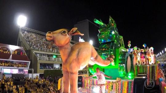 Paraíso do Tuiuti, atual vice-campeã do carnaval do Rio, volta a fazer crítica social