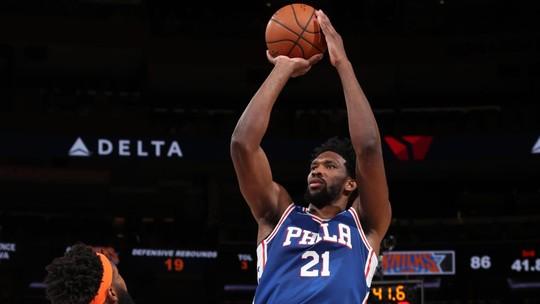Melhores momentos: Philadelphia 76ers 126 x 111 New York Knicks, pela NBA