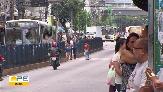 Obras na Avenida Conde da Boa Vista começam em abril; 1ª fase altera itinerário de 38 linhas de ônibus