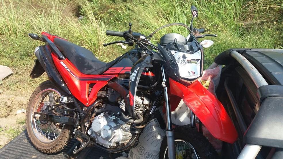 Acidente entre motos causa uma morte na BR-135 (Foto: Divulgação/PRF)