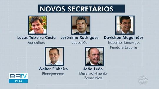 Governador Rui Costa anuncia mais dez secretários para 2º gestão