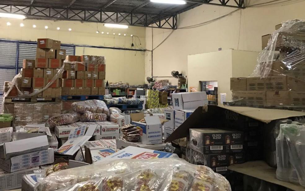 Segundo Secretaria da Fazenda, mais de R$ 2 milhões em produtos foram apreendidos (Foto: Divulgação/Secretaria da Fazenda)