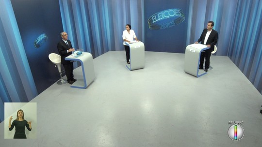 Candidatos ao governo do RN no 2º turno se confrontam em debate da Inter TV Cabugi