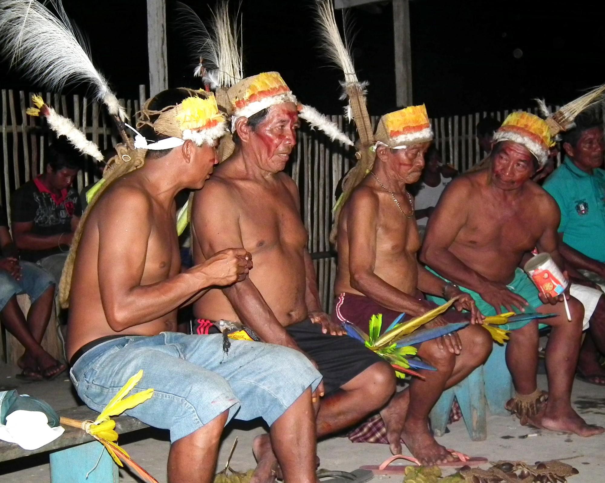 Povo indígena do povo Bayaroa. (Foto: Divulgação / ISA)
