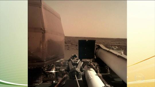 Sonda da agência espacial americana começa a enviar fotos de marte