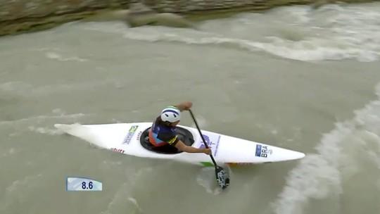 Ana Sátila conquista a medalha de bronze em etapa da Copa do Mundo de canoagem slalom