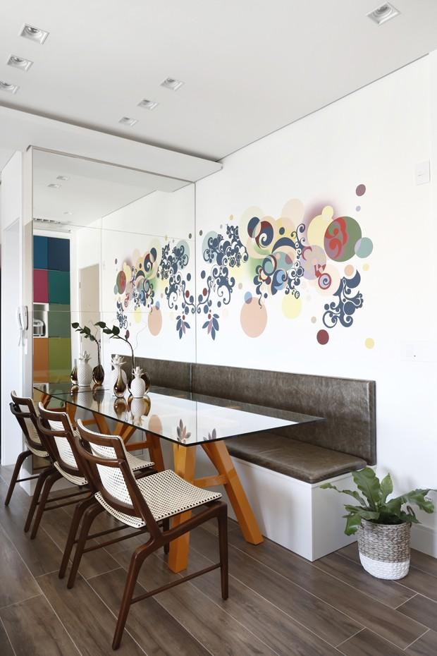 O primeiro (e colorido) apartamento de uma jovem médica (Foto: Mariana Orsi)