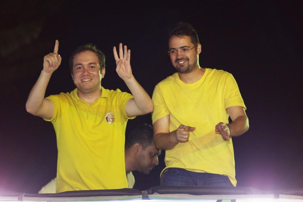 Jaydson Aguiar e Mardes Ramos de Oliveira foram considerados inelegíveis pelo TRE-CE.  — Foto: Reprodução/Facebook