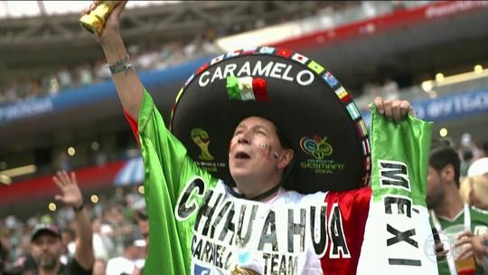 México enfrenta Coreia embalado pela vitória sobre Alemanha