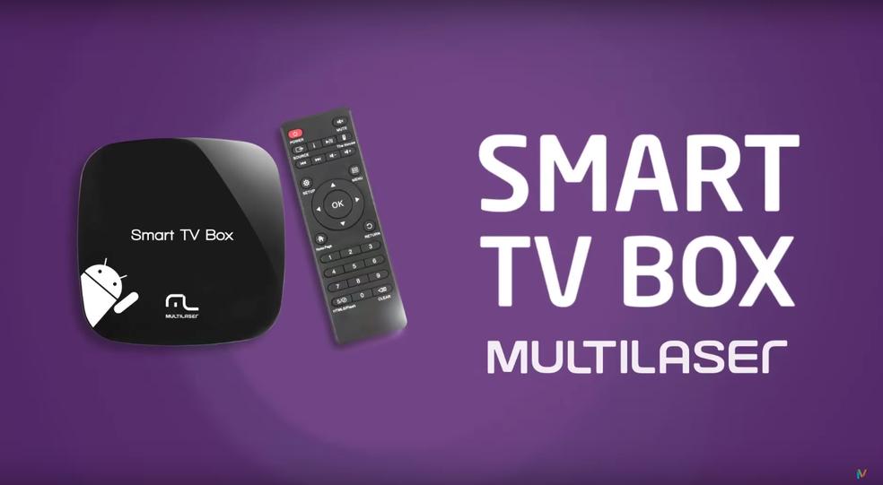 Conheça a Smart TV Box da Multilaser (Foto: Divulgação/Multilaser)