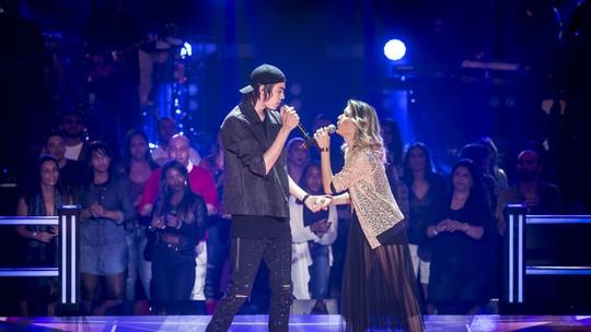 'The Voice Brasil': Roberto Küster e Maraia Takai repetem dueto pop nas 'Batalhas