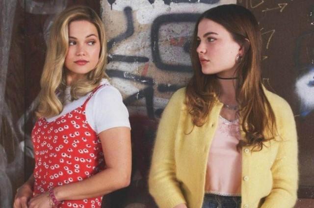 Chiara Aurelia e Olivia Holt em 'Cruel summer' (Foto: Amazon)