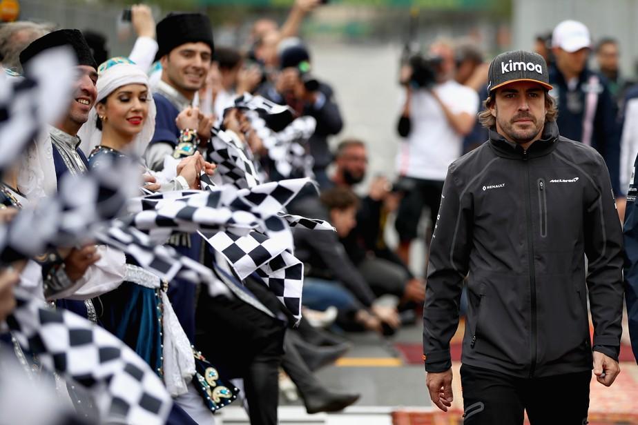 Alonso não espera grande evolução com atualizações da McLaren: