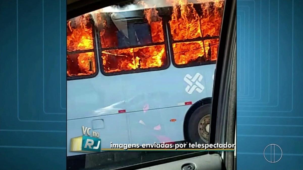Em dia violento, Macaé, RJ, tem PM assassinado, suspeitos baleados e ônibus incendiados