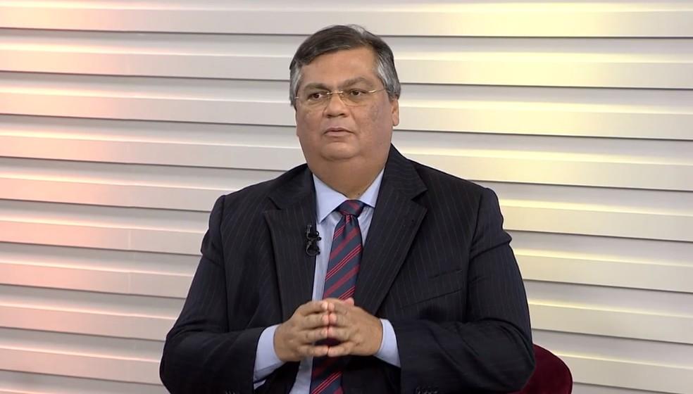 Governador do Maranhão, Flávio Dino — Foto: Reprodução/TV MIrante.