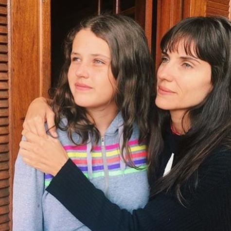 Rafaela Mandelli com a filha, Catarina (Foto: Reprodução Instagram)