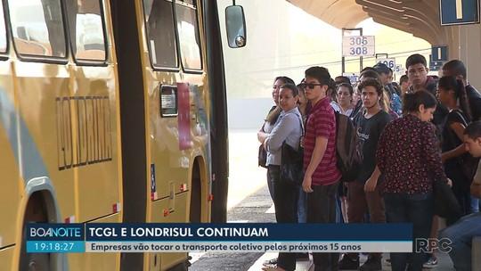 TCGL e Londrisul vão tocar o transporte coletivo de Londrina pelos próximos 15 anos