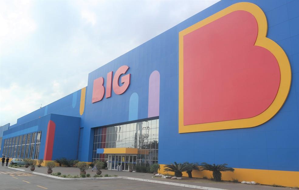 Supermercado da rede BIG (ex-Walmart) em São Paulo. — Foto: Divulgação/BIG