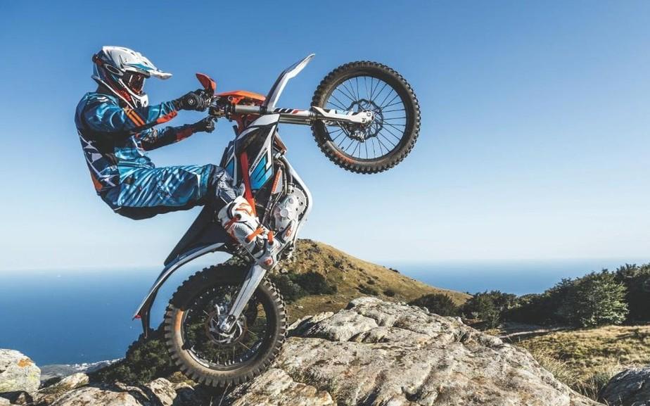4038e0445d8 ... MM Produtos - KTM Freeride E-XC  uma moto esportiva elétrica destinada  a abalar