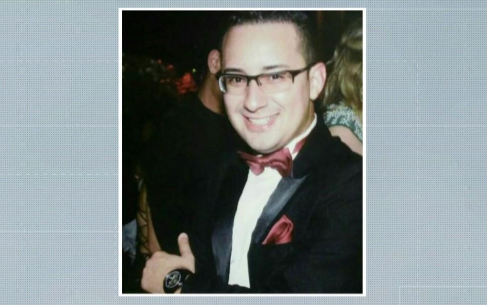 O passageiro Felipe Fuschi Amaro foi baleado e morreu no tiroteio no ônibus (Foto: TV Globo/Reprodução)