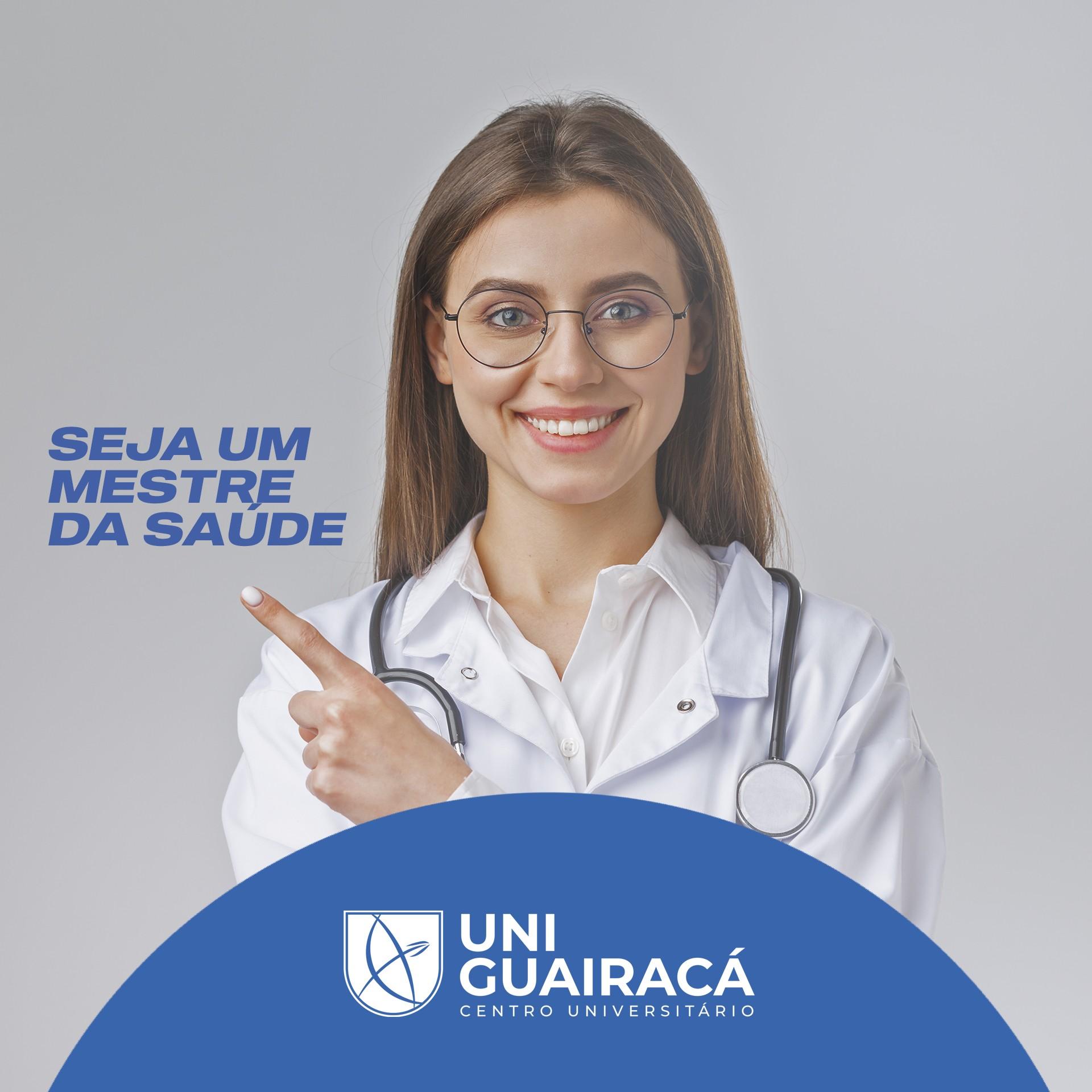 UniGuairacá oferece Mestrado Profissional em Promoção da Saúde