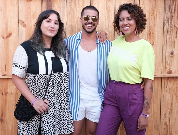 Amanda Britto, Rodrigo Coelho e Carla Lemos (Foto: Renato Wrobel/Ed. Globo)