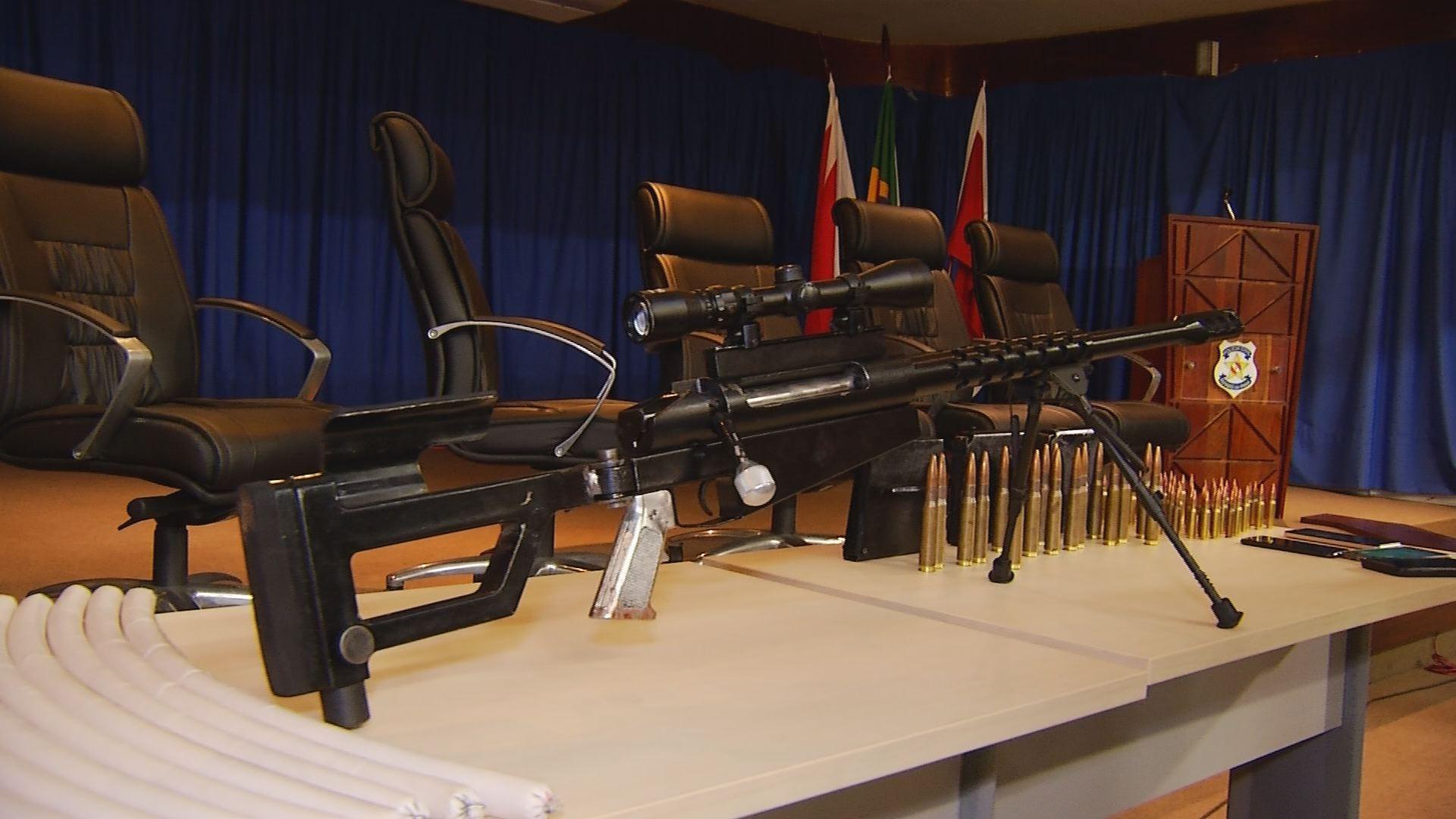 Fuzil de uso exclusivo das Forças Armadas é apreendido com quadrilha em Marabá