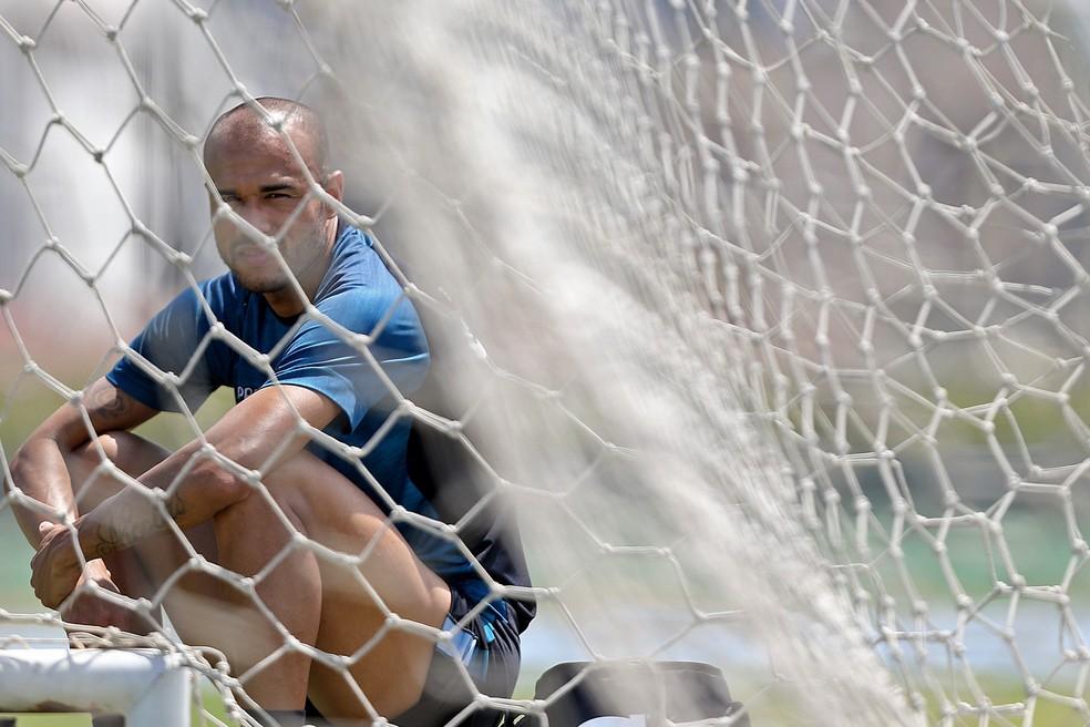 Artilheiro do Botafogo no ano deixa o clube pela porta dos fundos (Foto: Vitor Silva / SSpress / Botafogo)