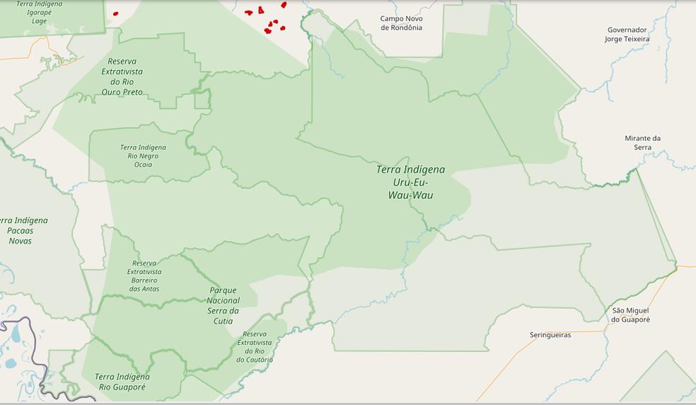 Terras indígenas Uru-Eu-Au-Au estão sendo invadidas para loteamento, segundo procuradora do MPF-RO (Foto: Reprodução/MPF)